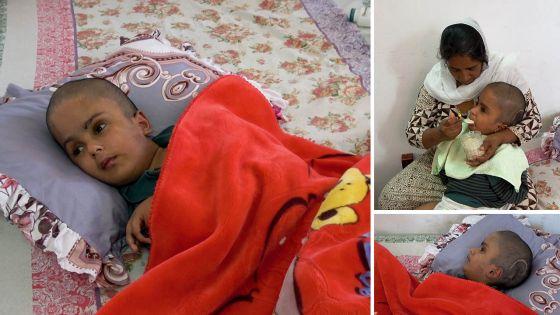 Appel à l'aide : atteint d'une maladie rare, Moozamir, 15 ans, vit comme un bébé