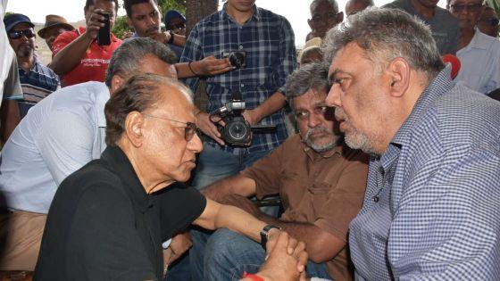 Clency Harmon arrête sa grève de la faim après sa rencontre avec Navin Ramgoolam