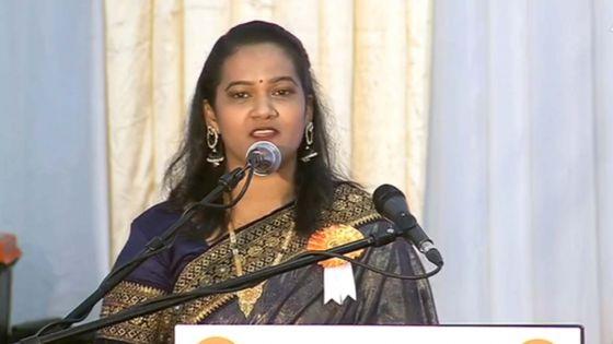 Padma Vibhushan Award : la présidente de la Hindu House félicite SAJ à Grand-Bassin