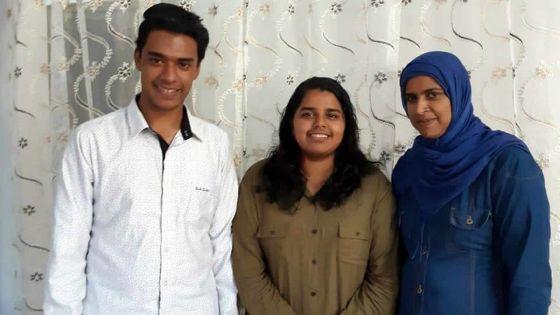 Son cas avait fait grand bruit : Nusayhah Bibi Hingah du QEC obtient finalement une bourse d'études