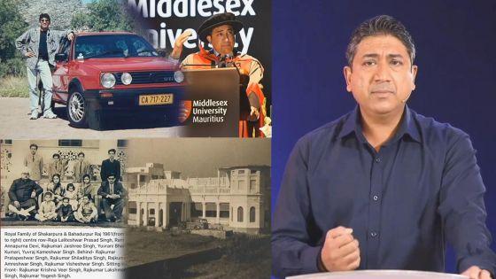 Sherry Singh se dit descendant d'«une lignée royale de l'Inde»