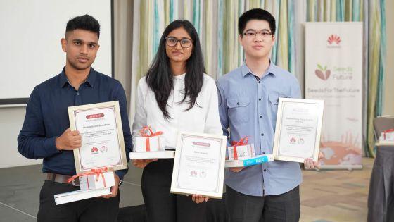 Huawei ICT Competition: Les trois Mauriciens se démarquent
