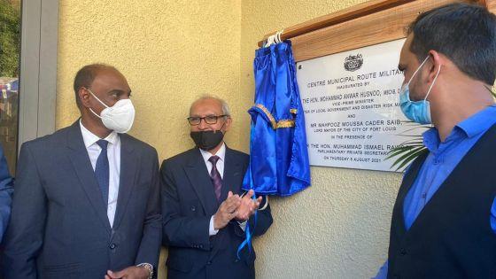 Vallée-Pitot : inauguration d'un centre municipal au coût de Rs 6 millions