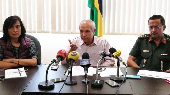 Alerte cyclonique : suivez en direct la conférence de presse du ministre Anwar Husnoo