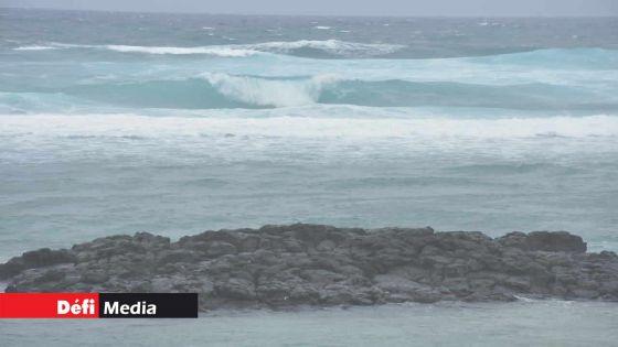 Rodrigues : un avis de fortes houles valable à partir de 13h00 ce lundi