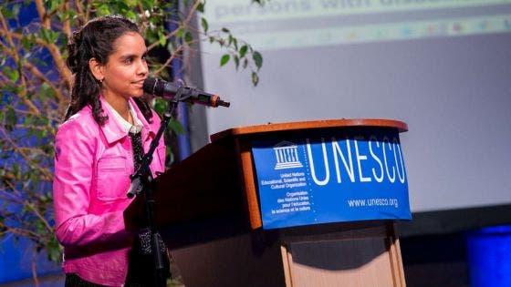 Jane Constance reconduite en tant qu'Artiste de l'Unesco pour la paix