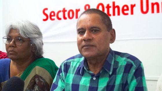 Le syndicaliste Rashid Imrith s'interroge sur le décès d'un fonctionnaire