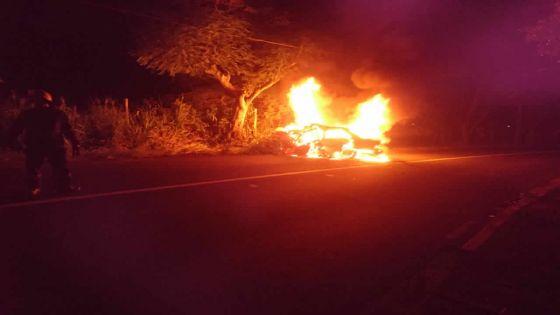 Mapou : quatre morts dans l'incendie d'une voiture