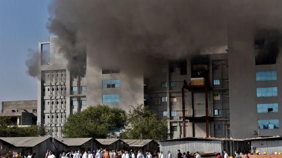 Cinq morts dans un incendie sur le site du géant indien des vaccins