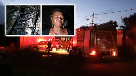4 maisons réduites en cendres : «Mo ti kot mo tifi. Banla-in vinn dir mwa dife dan mo lakaz»