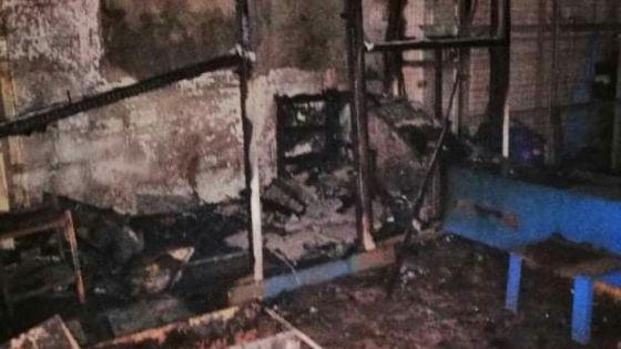 Incendie dans les locaux des Forges Tardieu