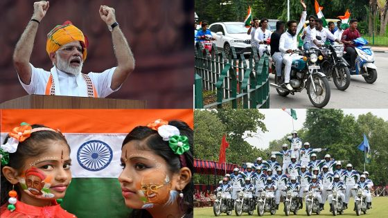 Inde : les 72 ans de l'indépendance de la Grande péninsule en images