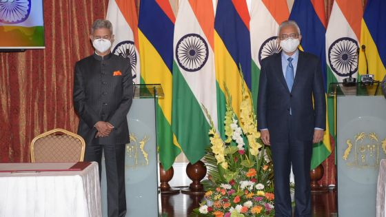 Six accords signés entre Maurice et l'Inde, dont une ligne de crédit de Rs 4 milliards