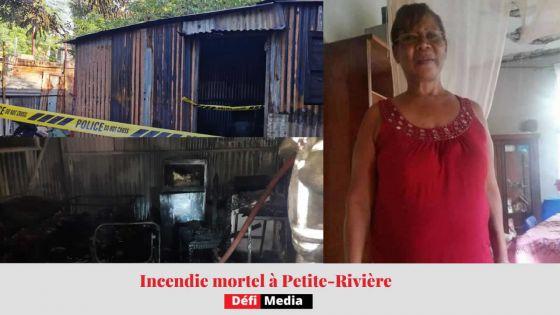 Petite-Rivière : Linda, 54 ans, périt dans l'incendie de sa maison