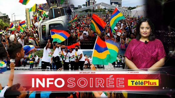 Défilé et Concert pour célébrer la victoire de Maurice aux JIOI 2019