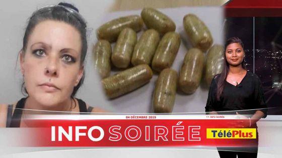 [Info Soirée] : Aéroport de Plaisance : une boulette d'héroïne s'échappe de ses parties intimes