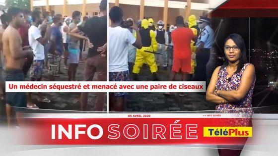 Info soirée : « nou pe riske nou lavi, nou pe al travay zot pe agress nou » dit le Dr Sewsurn