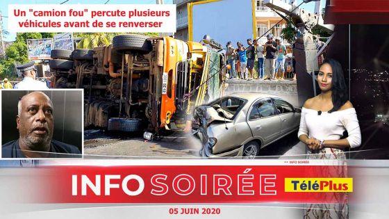 [Info Soirée] : Le chauffeur: «Frin pann trape monn bizin fer zig-zag pou evite bann loto»