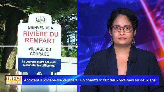 [Info Soirée] : « Deziem fwa li implike dan enn aksidan fatal »