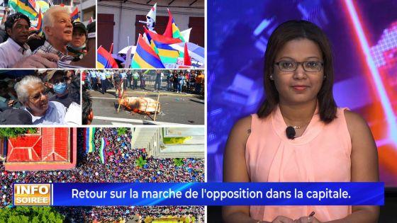 [Info soirée] : « Nounn vinn la pou dir li (GM) alé » scandent des manifestants