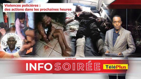 "[Info Soirée] : Mario Nobin : ""Se bann indesirab dan la polis"