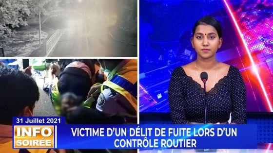 [INFO SOIRÉE] : «Mone trouve la mort en face»,  relate le sergent  de police