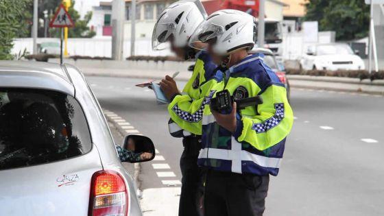 Infractions au code de la route : plus de 900 contraventions en 48 heures
