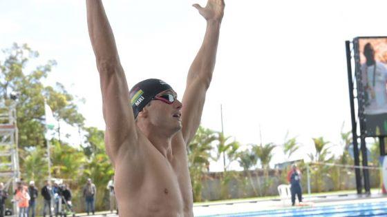 JIOI - Natation : Bradley Vincent décroche sa seconde médaille d'or pour Maurice
