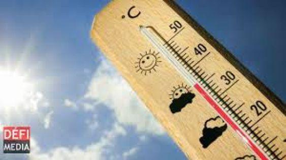 Météo : entre 32 et 35 degrés Celsius sur les régions côtières