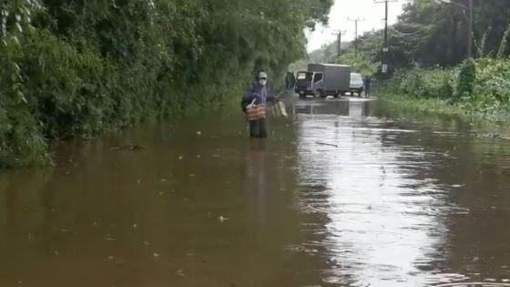 Pluies torrentielles : 139.4 mm à Mon Bois en 12 heures