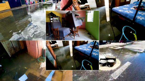 Intempéries : plusieurs cours et maisons inondées à Sainte-Croix