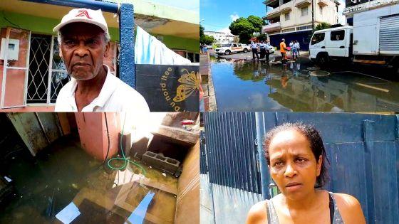 Des eaux usées inondent certaines maisons à Sainte-Croix et provoquent la colère des habitants