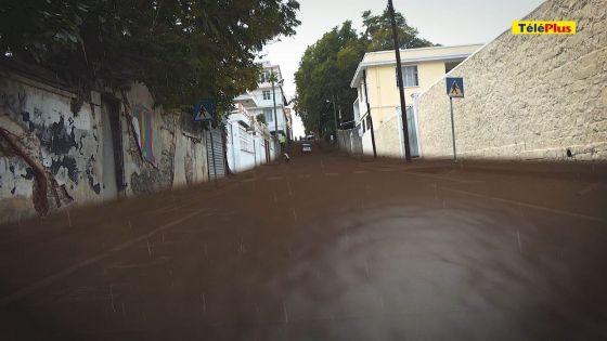 Travaux à Port-Louis : des ralentisseurs, source potentielle de débordement