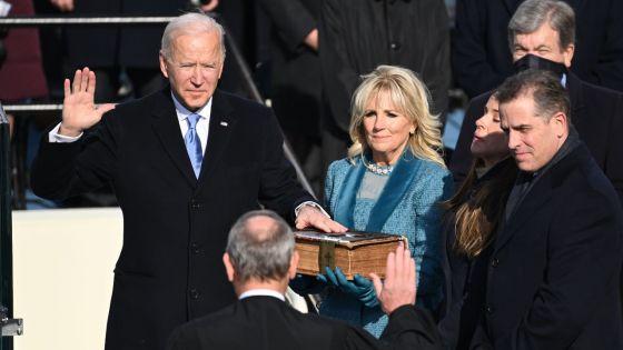 Investi président, Joe Biden appelle l'Amérique à l'unité