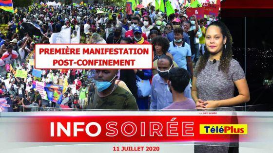 Pari réussi pour le Kolektif Konversasion Solider : les manifestants donnent de la voix à Port-Louis