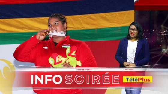 [Info Soirée] Après Roilya Ranaivosoa, Shalinee Valaydon fait la fierté de l'haltérophilie mauricienne