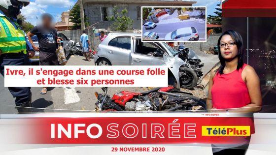 [Info Soirée] : «Letan li pe sove, linn al tap ek enn motosiklet divan», raconte l'un des blessés