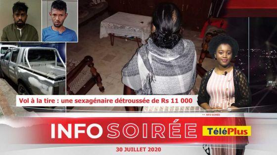[Info Soirée] : «Ler mo pe kriye linn kokin mo sak, li galoupe li monte dan enn van»