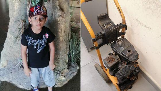 Hisham, 5 ans, meurt, après l'explosion d'un compresseur -Ismaël Mohamoodally, son père :«So bann frer inn al sap li»