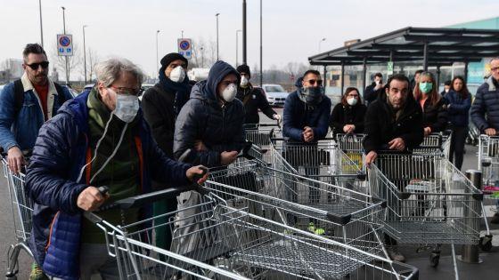 Coronavirus : 5e victime en Italie