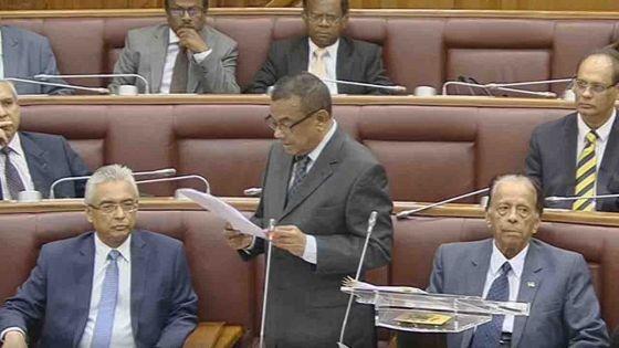 Alteo : Collendavelloo apporte des précisions au Parlement après son accrochage avec Shakeel Mohamed
