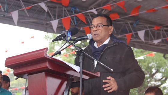 Ivan Collendavelloo à Vacoas : «Tou bann militan pou abandon MMM»