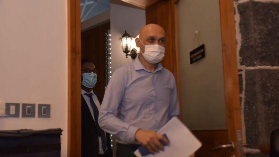 Covid-19 : les personnes contaminées viennent de Vacoas, Curepipe, Castel et Engrais-Martial, selon Jagutpal