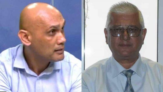 «Au Cœur de l'Info» : querelle de chiffres et de bilan entre le ministre Jagutpal et le Dr Gujadhur sur fond de Covid-19