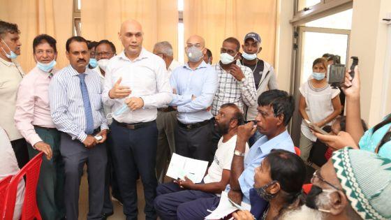 Vaccination pour les plus de 60 ans : Jagutpal s'attend à ce qu'une centaine de personnes soient vaccinées par jour