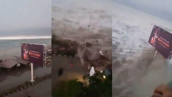 Indonésie: les Célèbes frappées par un tsunami, des vidéos déferlent sur la Toile