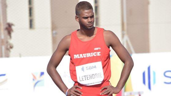 JIOI - Athlétisme : le sauteur en hauteur, Jérémie Létendrie, remporte l'argent