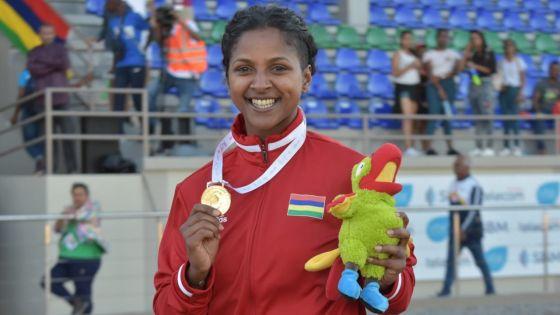 JIOI - Athlétisme : défi relevé pour Jessica Rosun qui rafle l'or au lancer du javelot