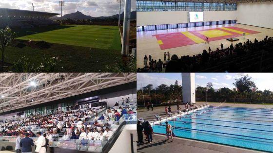 JIOI : le complexe sportif de Côte-d'Or en images