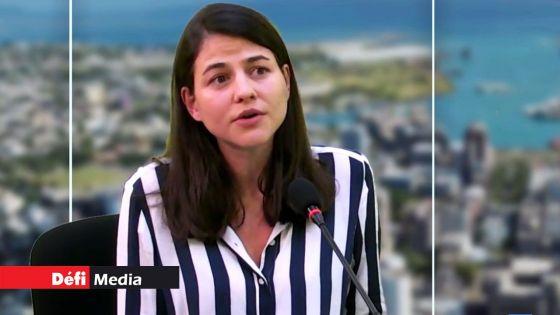 Travaux parlementaires : Joanna Bérenger souhaite un interprète pour les sourds et malentendants